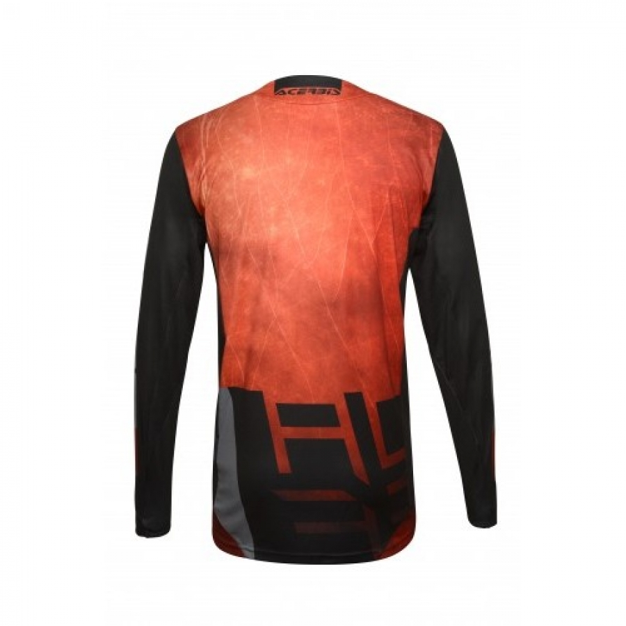 MX OUTRUN JERSEY RED BLACK
